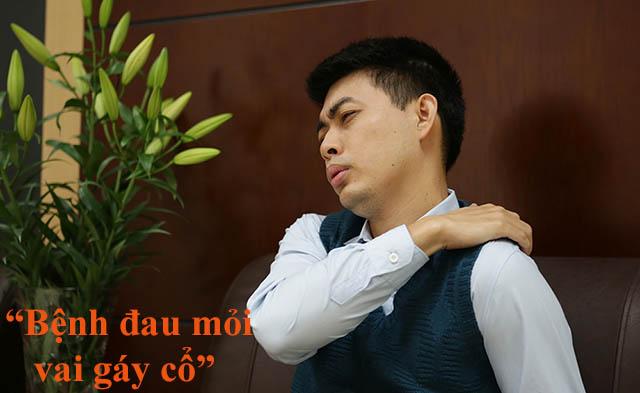 Tìm hiểu về bệnh đau mỏi vai gáy cổ