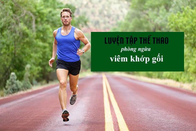 Luyện tập thể dục thể thao phòng ngừa viêm khớp gối