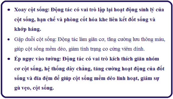 Xoay cột sống
