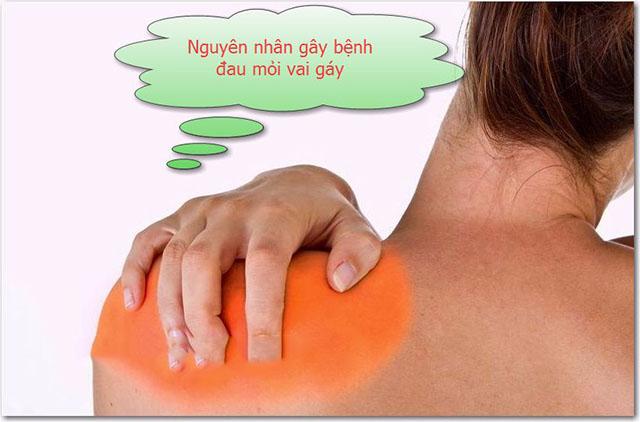 Nguyên nhân gây đau vai gáy