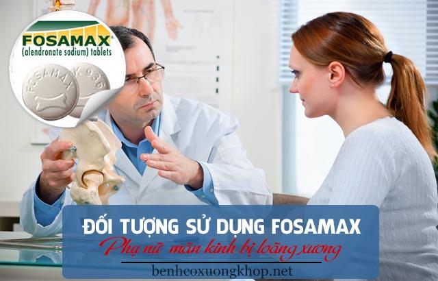đối tượng dùng fosamax