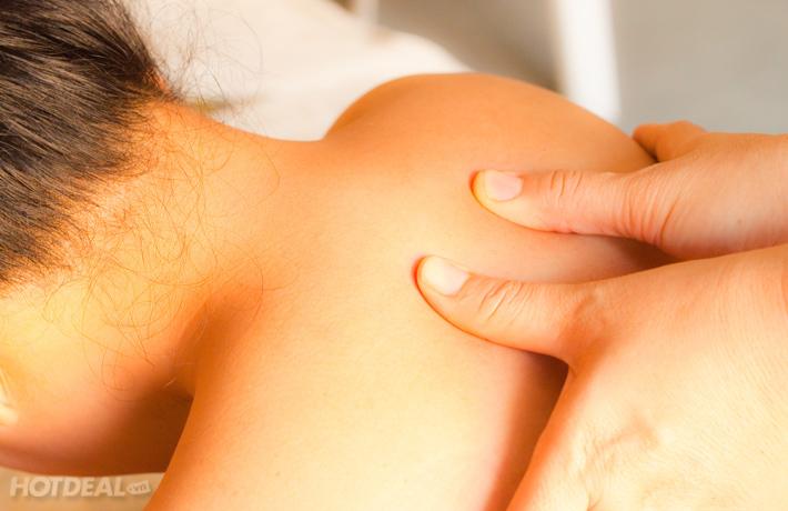 Học nhanh cách bấm huyệt chữa đau vai gáy bài bản