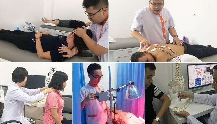Áp dụng bài tập vật lý trị liệu chữa bệnh đau mỏi xương bả vai