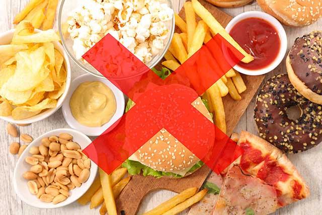 Dinh dưỡng kém - Nguyên nhân thoái hóa cột sống