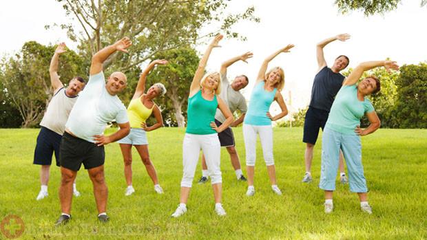 Thường xuyên luyện tập thể dục giảm triệu chứng thoái hóa khớp