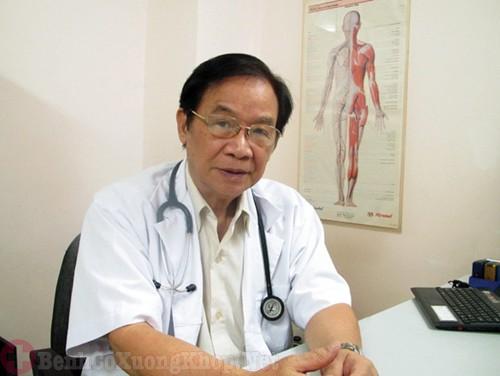 TS.BS Nguyễn Văn Hoạt (Bệnh viện trường ĐHY Hà Nội)