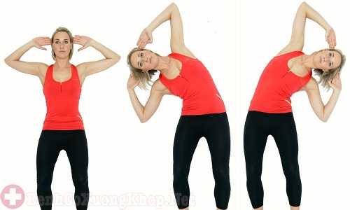 Bài tập nghiêng vùng cổ giúp cổ trở nên linh hoạt hơn