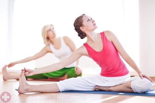 Thường xuyên luyện tập các bài thể dục nhẹ nhàng