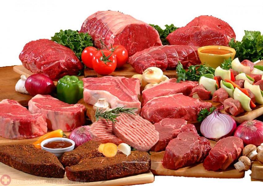 Người bệnh viêm khớp nên hạn chế sử dụng các loại thịt đỏ