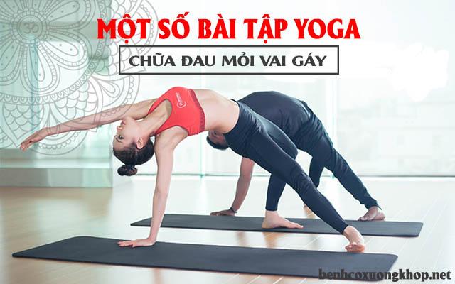 tập yoga chữa đau vai gáy