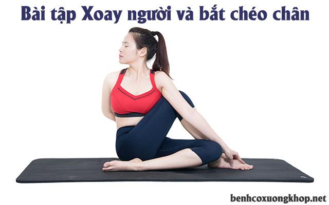 chữa đau mỏi vai gáy bằng yoga