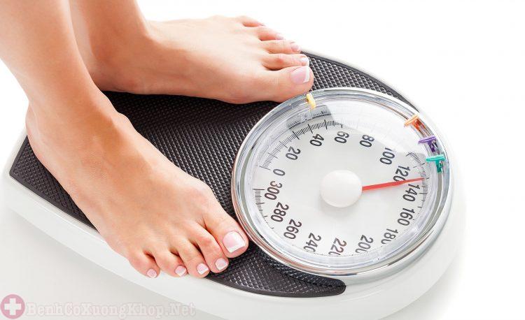 Tăng cân quá mức gây viêm khớp gối