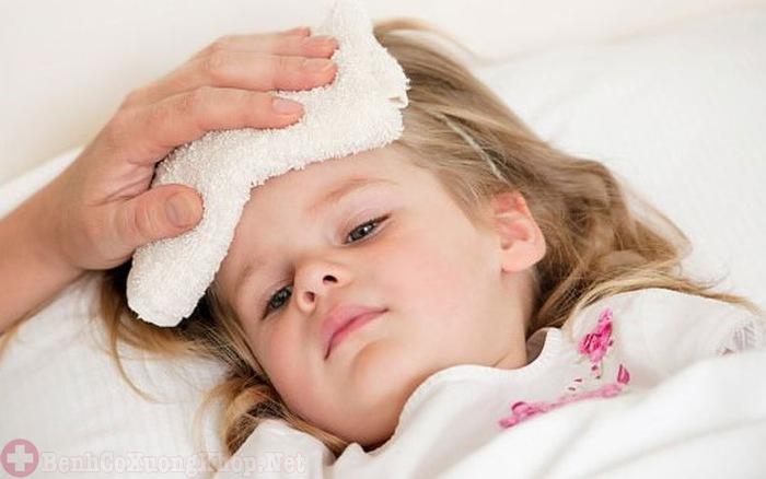 Thể viêm hệ thống khiến trẻ bị sốt