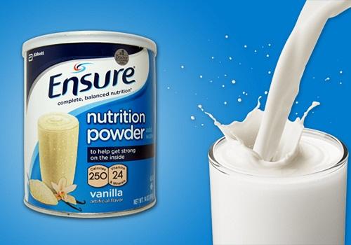 Sữa bột Ensure tốt cho sức khỏe người bị thoát vị đĩa đệm