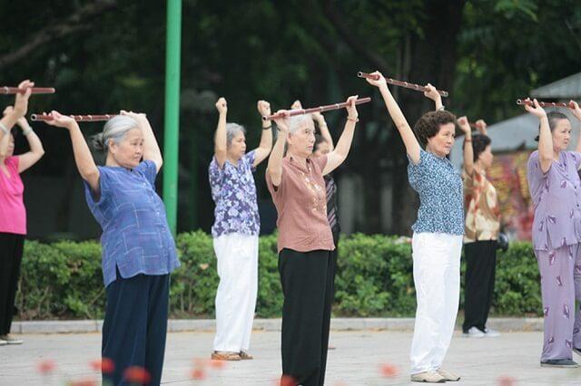 Luyện tập thể dục phòng ngừa bệnh viêm khớp