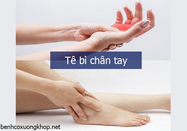 Bệnh tê bì chân tay