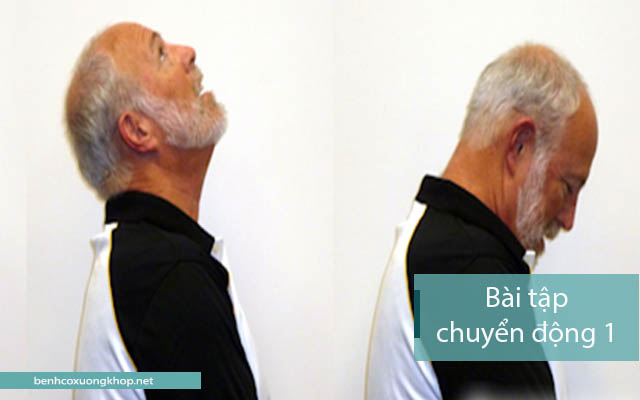 Bài tập chữa thoát vị đĩa đệm cổ: chuyển động