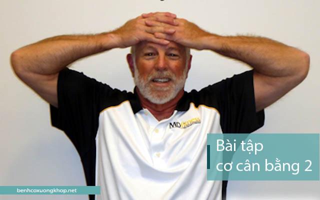 Bài tập cơ cân bằng giúp chữa thoát vị đĩa đệm cổ
