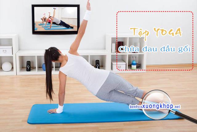 Đau đầu gối có thể tập Yoga