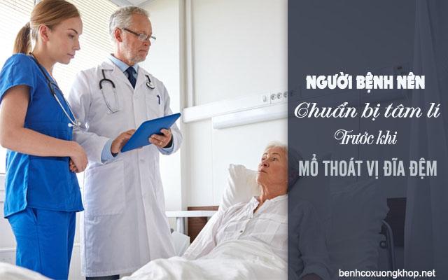 lưu ý khi mổ thoát vị đĩa đệm tại bệnh viện Việt Đức