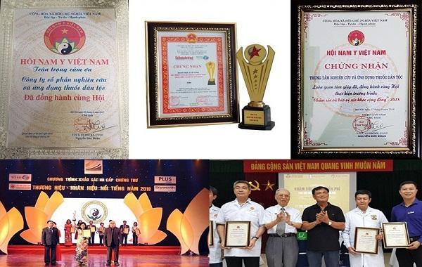 Trung tâm vinh dự đạt được nhiều giải thưởng danh giá