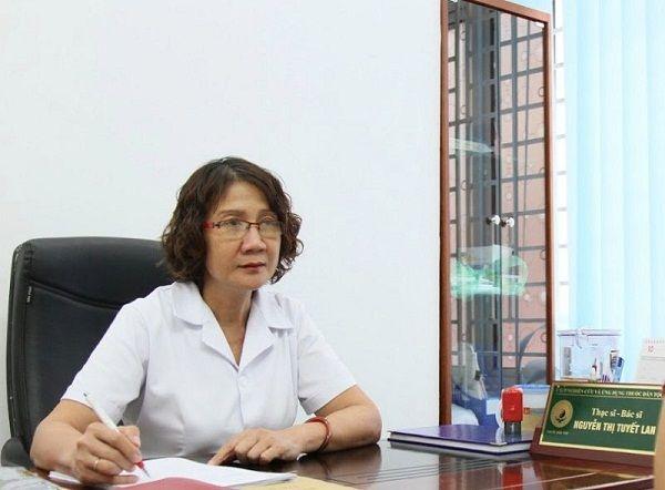 Bác sĩ Nguyễn Thị Tuyết Lan - người chia sẻ câu chuyện bệnh nhân
