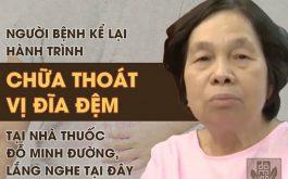 Lắng nghe chia sẻ của người bệnh chữa khỏi thoát vị đĩa đệm tại Đỗ Minh Đường