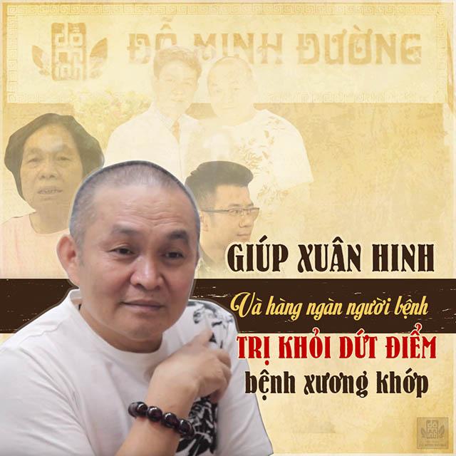 Xuân Hinh đã chữa khỏi bệnh xương khớp tại nhà thuốc Đỗ Minh Đường
