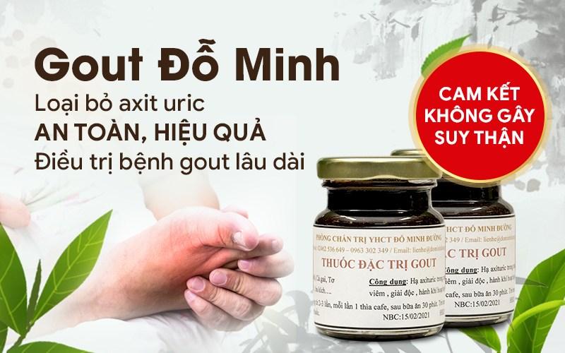 Bài thuốc Gout Đỗ Minh